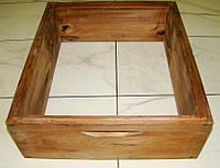 Корпус для улья на 10 рамок ½ Дадан (145 мм) (липа) проваренный в раст масле
