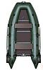 Надувная моторная лодка (спайолом слань-книжка) Лайт KDB КМ-300DL / 22-285