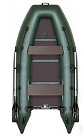 Надувная моторная лодка (спайолом слань-книжка) Лайт KDB КМ-300DL / 22-285, фото 1
