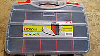 """Органайзер двухсторонний HTools 2 в 1 - 12,6"""", 320x260x80 мм."""