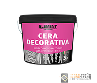 M ELEMENT Cera Decorativa - декоративный воск (ТМ Элемент Сера Декоратива),3л.
