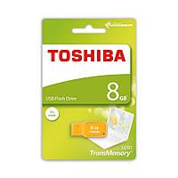 Флешка USB  TOSHIBA MIKAWA 8 GB Yellow