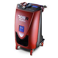 Полуавтоматическая установка для заправки и обслуживания кондиционеров автомобилей KONFORT 705R