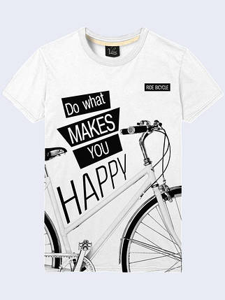 Футболка Do what makes you happy, фото 2