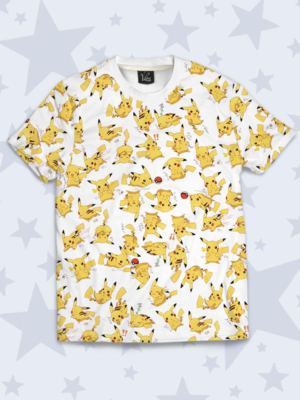 Детская футболка Pokemon Pikachu
