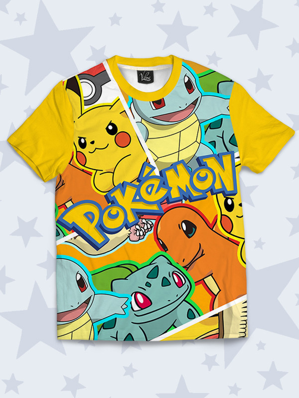 Детская футболка Pokemons