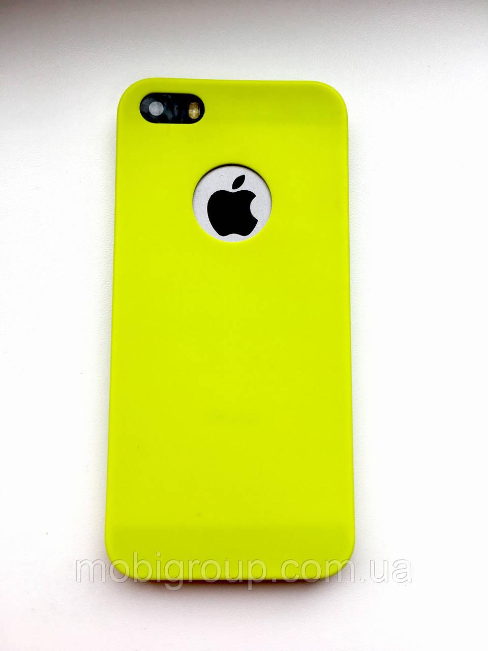Чехол силиконовый Soft Touch для iPhone SE/5S/5