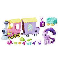 Игровой набор Моя Маленькая Пони Поезд Дружбы (My Little Pony Explore Equestria Friendship Express Train)