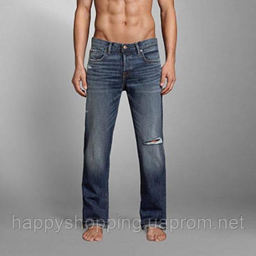 Рваные джинсы Abercrombie & Fitch