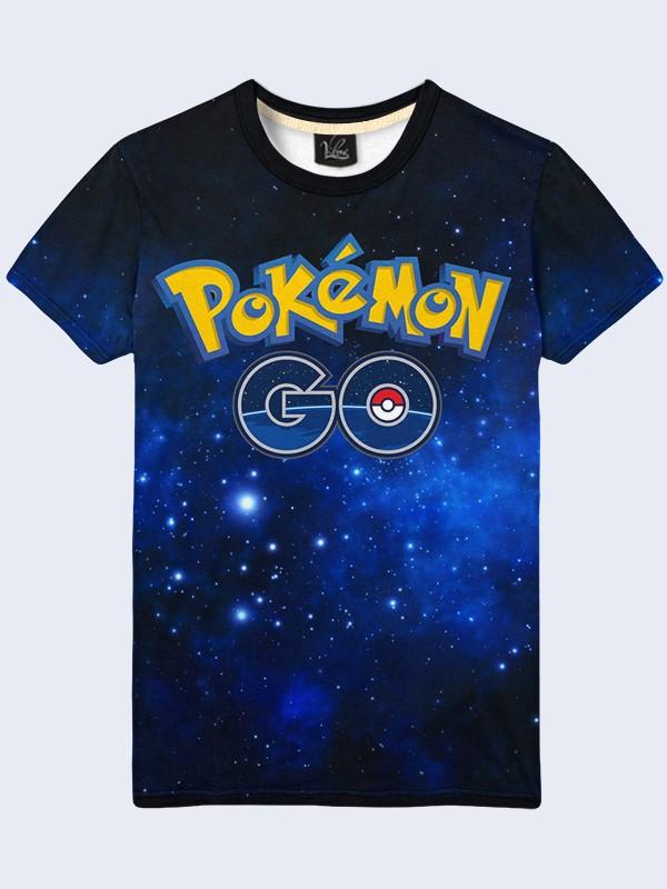Футболка Pokemon Go logo
