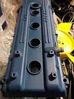 Крышка клапанная Газель,Волга двигатель 406,405 (алюминий, катушки с краю) (производство Россия)