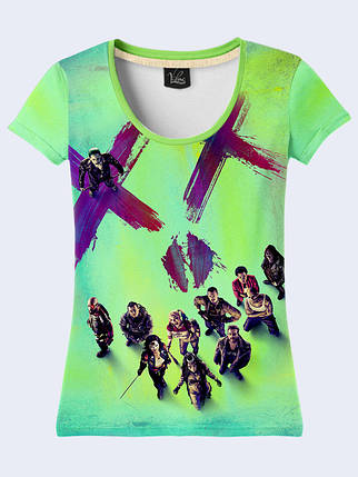 Женсая футболка Film Suicide Squad, фото 2