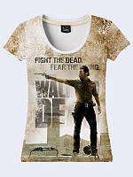 Женсая футболка Rick Grimes