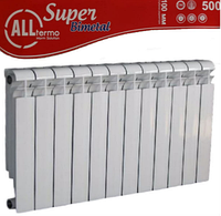 Биметаллические радиаторы ALLTERMO BIMETAL SUPER 500/100