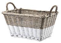 Ящик корзина плетенная из лозы с ручками 41Х31 см