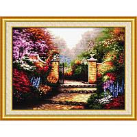 Гламурный сад. Набор для вышивания нитками