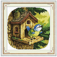 Песня птицы. Набор для вышивания нитками