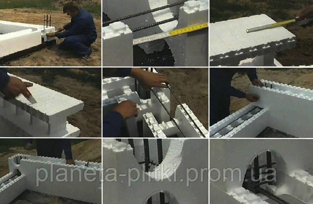 Строительство дома из несъемной опалубки
