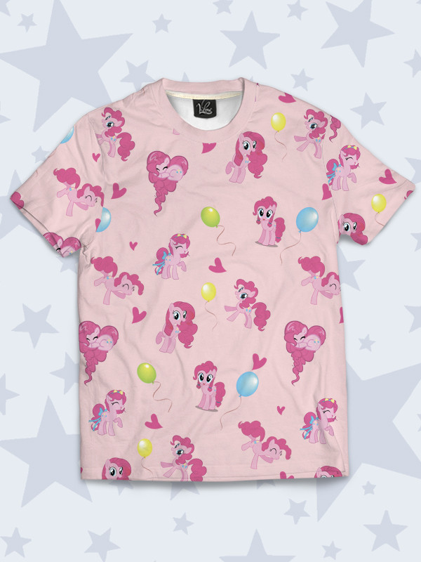 Детская футболка Пинки коллаж