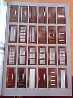 Двері шпоновані дубом Тріо