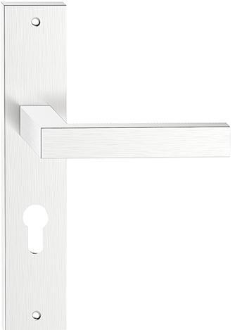 Дверная ручка Topaz-Y-11- нержавеющая сталь
