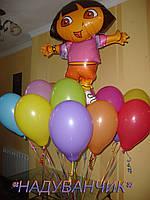 Хмаринка Дора +15шт. кульок гелієвих Вінниця