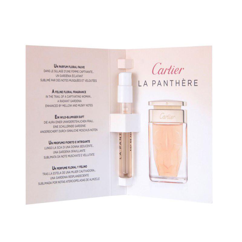 Cartier La Panthere парфюмированная вода оригинал 15ml пробник