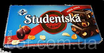 Шоколад черный Orion Studentska Pecet со сливой 180г (Чехия)