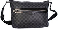 Брендовая мужская сумка LOUIS VUITTON DAMIER GRAPHITE MICK MM 300204, серая