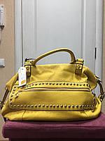 Женская,  яркая,  молодежная сумка мягкая, спортивно - городской стиль