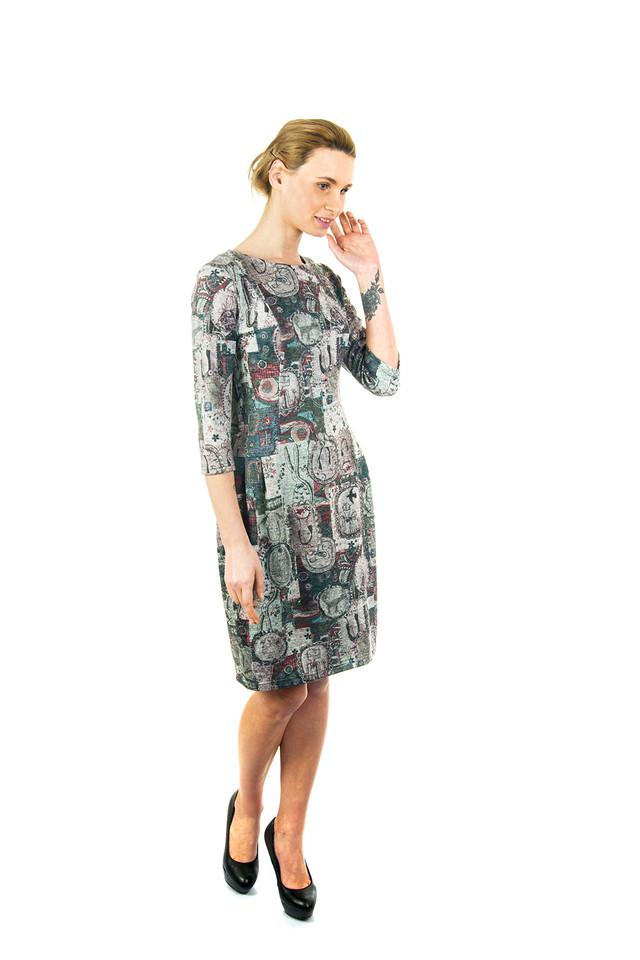Платье теплое П168