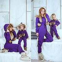 Family look комбинезон   мама и дочка, фото 1