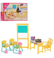 "Набор мебели для куклы Барби ""Школьный класс"" арт. 9916"