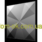 """Гипсовые 3D панели """"Оригами-1"""" Гипсовые 3D панели """"Скаты - круг""""(копия)(копия)(копия)(копия)"""
