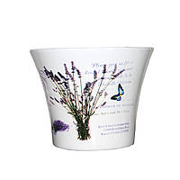 Керамический вазон для цветов 14,5*14,5*11,5 (14189)