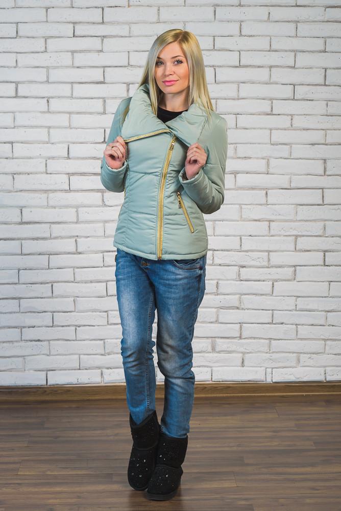 Куртка женская весна-осень брокард