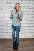 Куртка женская весна-осень брокард, фото 1