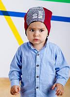 Детская шапка МИГЕЛЬ для мальчиков оптом размер 46- 48, фото 1