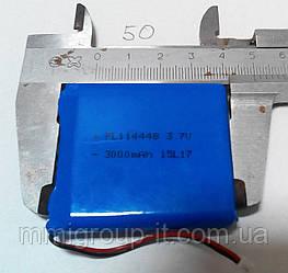 Аккумулятор LiPo 3.7V 3000 mAh PL114448