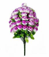 Букет штучних квітів Троянда-36 каскадна гофре , 60 см, фото 1