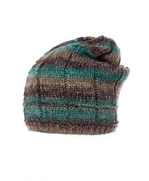 Красивая теплая вязаная шапка женская Blanka от Pawonex., фото 2