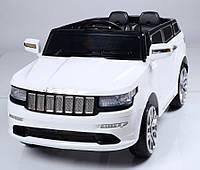 Электромобиль T-789 WHITE джип на р.у. 2*6V7AH с MP3 114*60*52 ш.к. /1/