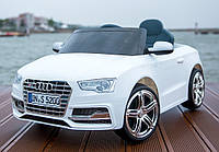 Электромобиль T-796 Audi S5 WHITE легковая на р.у. 6V7AH с MP3 109*61*37 ш.к. /1/