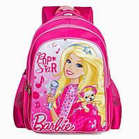 Рюкзак школьный розовый Барби Pop Star