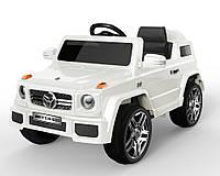 Электромобиль T-785 WHITE джип на р.у. 2*6V4.5AH с MP3 117*69*53 ш.к. /1/