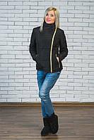 Куртка женская весна-осень черная