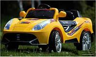 Детский электромобиль BT-BOC-0074 YELLOW Ferrari с пультом, желтый ***