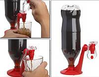 Зручний кран Fizz Saver для пляшок з водою або пивом / Удобный кран Fizz Saver для бутылок.