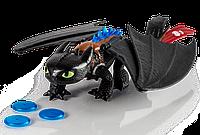 Большой дракон Беззубик де-люкс 38 см