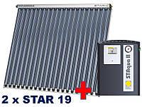Paradigma-2 х STAR 19/33,4-6 человек.Плоская крыша / фасад 45 °